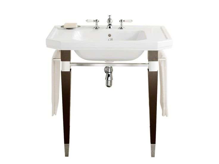 Console Vanity With Wood Legs Bain Home Console Home