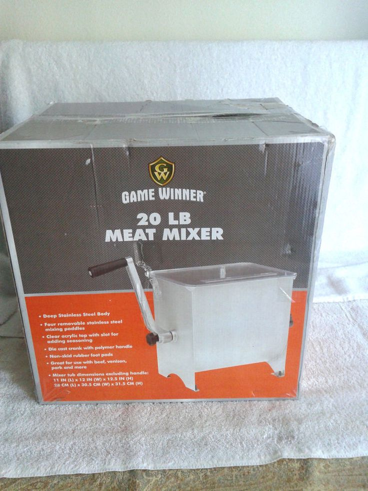 NEW Game winner  Sausage Deer Game Venison Processor 20 LB #Gamewinner
