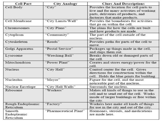 Cell City Analogy Worksheet Answers Printable Worksheets Are A Valuable School Room Tool They No Longer In Sim In 2021 Cell City Cell City Project Cell City Analogy