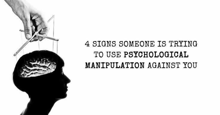 Identifying psychological manipulation can be difficult- especially if you grew up with it. These 4 signs make it easier to recognize in your life.