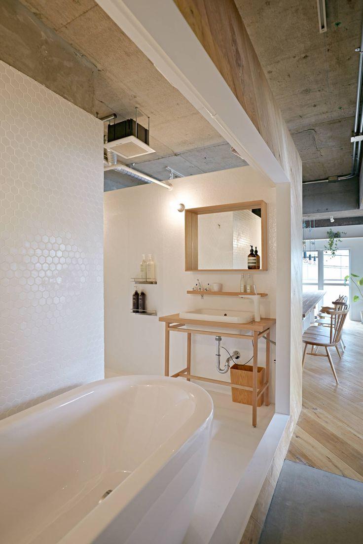 Open Japanse badkamer | Interieur inrichting