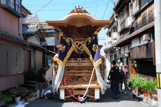 岸和田だんじり祭り 平成26年度 紙屋町