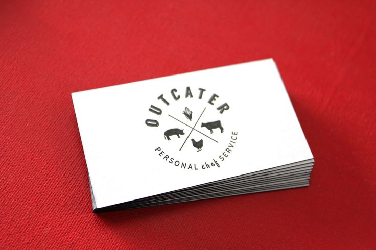 Little Peach - Outcater {Letterpress}