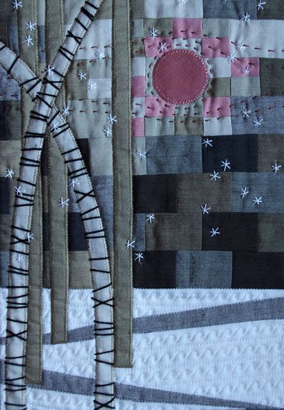 I am a freelance needlecraft designer and quilt artist living and working in the beautiful English town of Malvern, Worcestershire. This is my blog in which I will share with you my latest work.