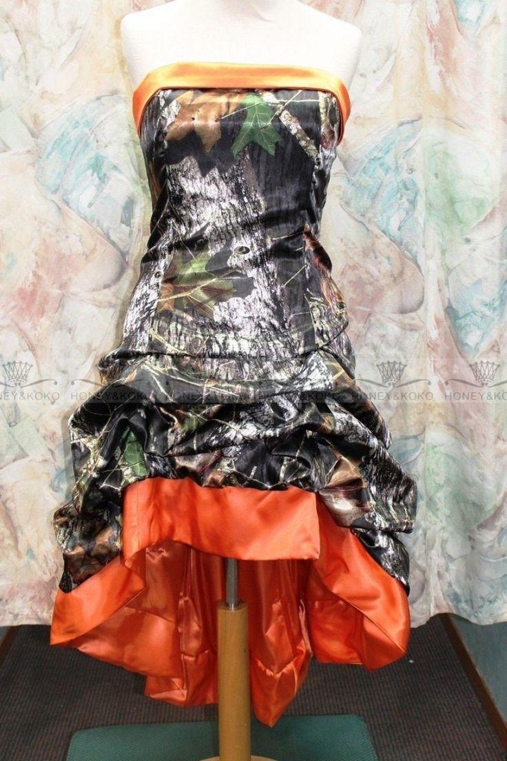 The 25 best camouflage wedding dresses ideas on pinterest camo 30 beautiful white and orange wedding dress camouflage ombrellifo Choice Image