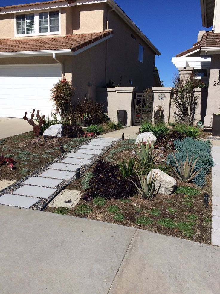 17 best images about front yard ideas on pinterest for Front yard ornamental grasses