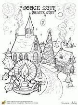 Sample French Christmas Letter. printable coloring pages about Christmas carols in French 42 best No l pour enfants images on Pinterest  For kids