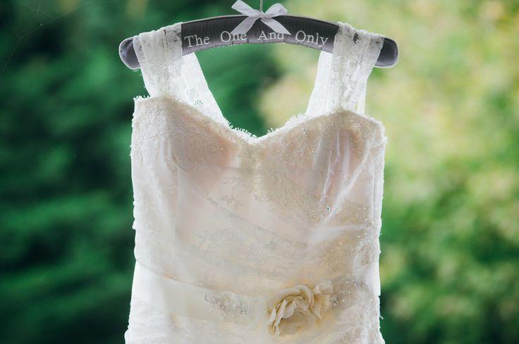 Dress and cute hanger.