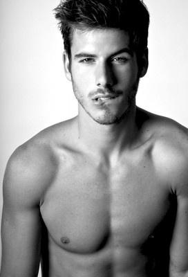 Seductive lip bite ~ Beautiful Men