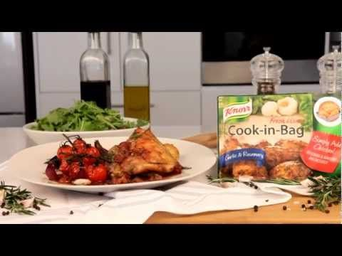 Quick Chicken, Potato and Butternut Bake, made with a convenient #Knorr Cook-In-Bag.