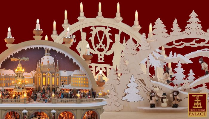 The history of the German candle arch, a traditional German Christmas decoration