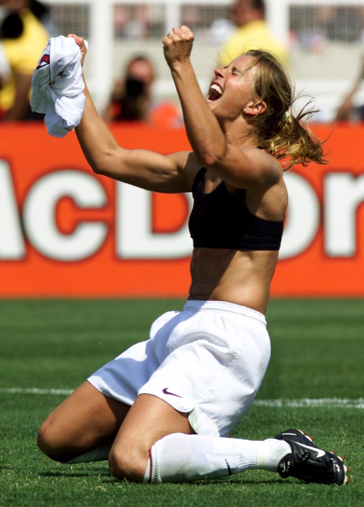 Brandi Chastain on Motherhood, Diets and Posing Nearly Naked | Fox News Magazine