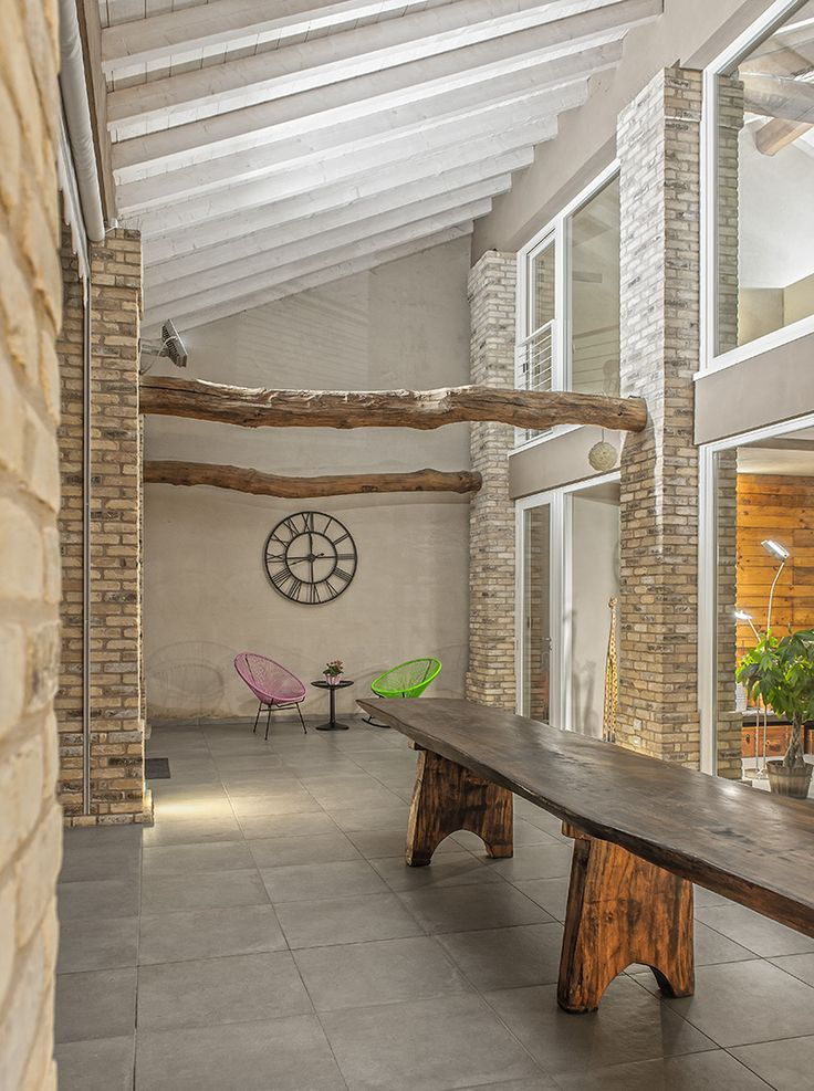 Il legno come segno distintivo per una casa in Italia