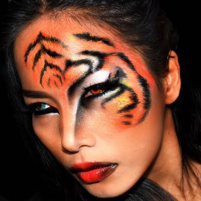 ‪#‎HalloweenMakeupIdeas‬: Show off your inner tigress and don this fierce look by Preen.Me MUA Maycry M. Watch the video tutorial here and get ready to do a big roar!