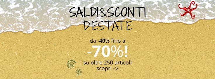 SALDI & SUPER OFFERTE D'ESTATE #Chairsoutlet ti propone oltre 200 prodotti per l'#arredo #casa, #giardino, #caffetteria, #ufficio, con #sconti da -40% fino a -70%. Acquista ora -> www.chairsoutlet.com