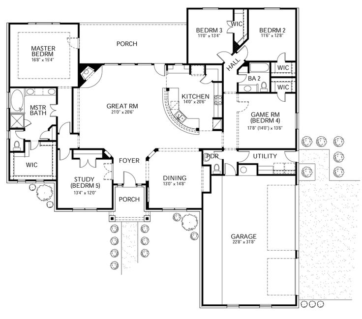 199 Best Floor Plans Images On Pinterest | Dream Home Plans, House