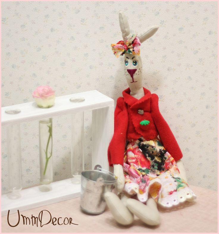 Decorative rabbit Tilda Декоративная игрушка