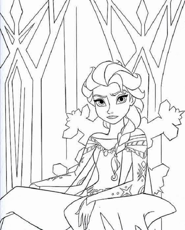 The 25+ best Frozen coloring pages ideas on Pinterest | Frozen ...