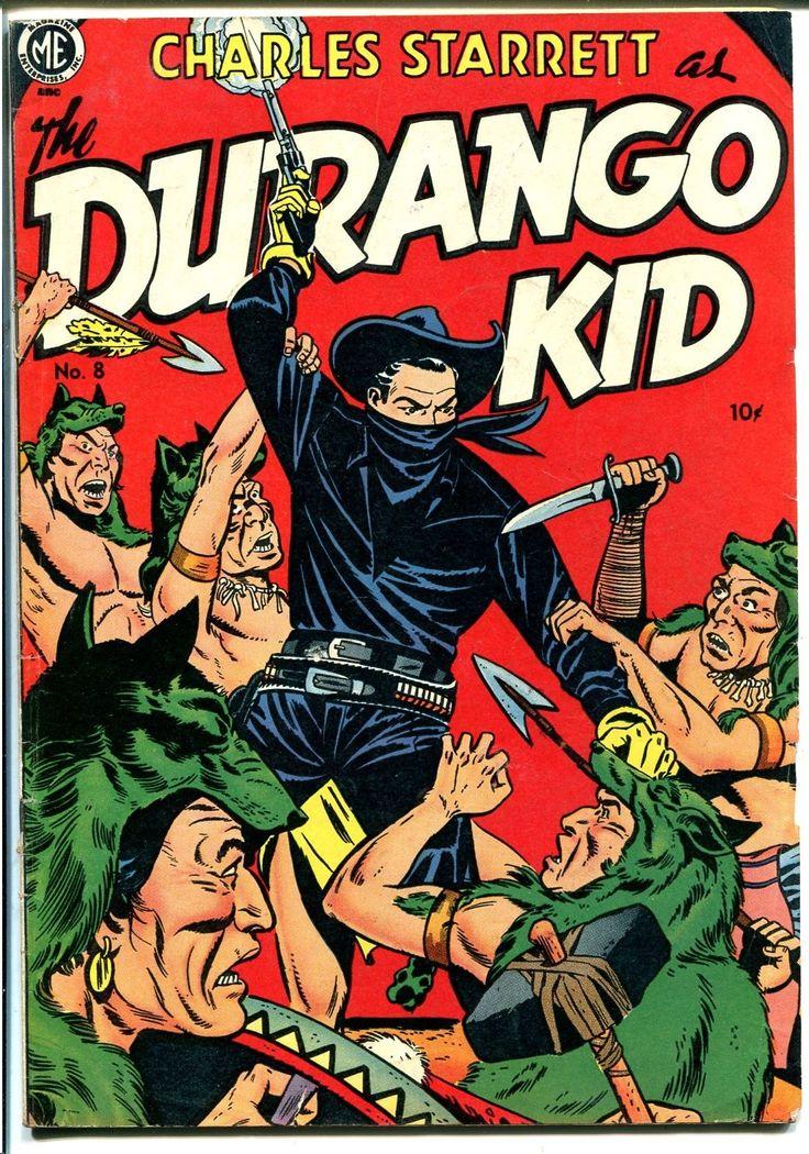 Comic Book Cover For Charles Starrett As The Durango Kid