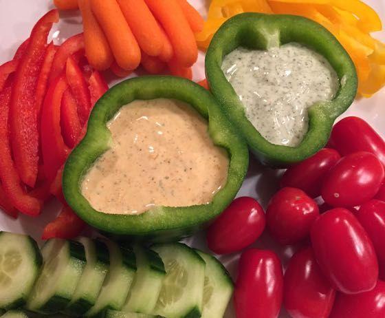 Gezond snacken | Groentedip