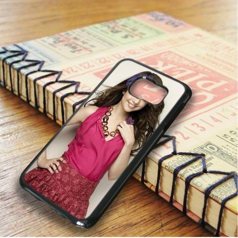 Selena Gomez Cute Smile Singer Idol Star Samsung Galaxy S6 Edge Case