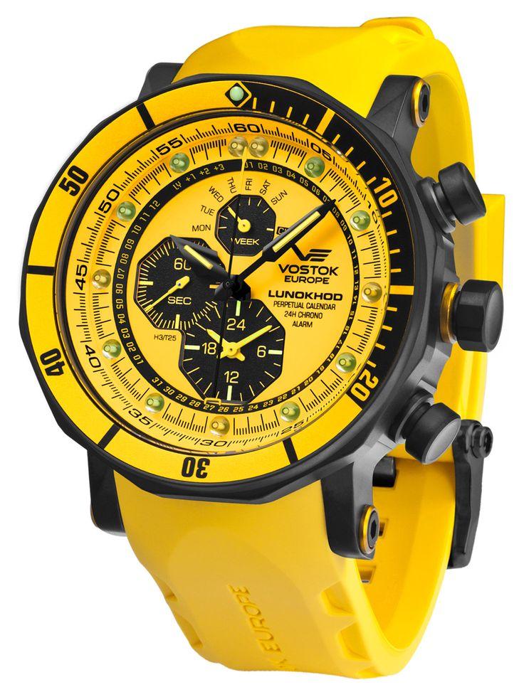 VOSTOK EUROPE YM86-620C504 Herrenuhr Alarm-Chronograph Lunokhod 2 jetzt günstig im uhrcenter Uhren Shop bestellen. ✓Geprüfter Online-Shop.