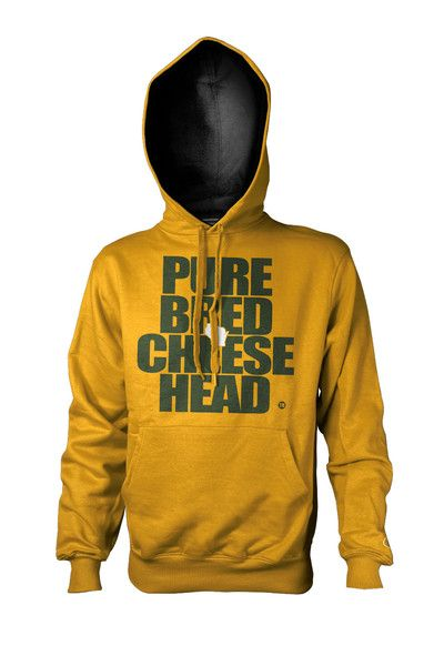 It's winter time Cheeseheads. Stay warm in style with this super heavy duty pullover from PBCheesehead.com.