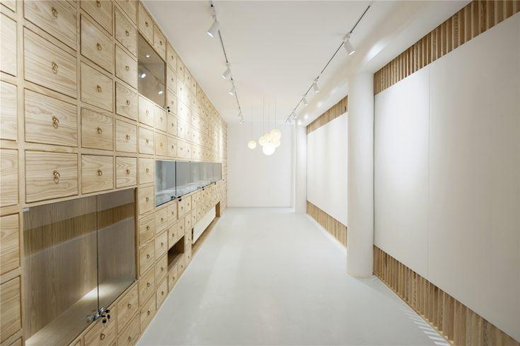 Galeria de Tela Dobrável, Galeria de Arte Ocidental Rongbaozhai / ARCHSTUDIO - 3