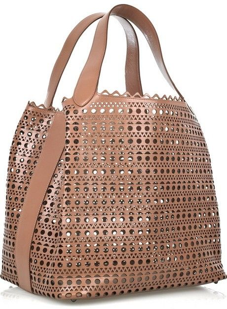 Alaïa Perforated Leather Oversized Tote My Style In 2018 Pinterest Bags Handbags And