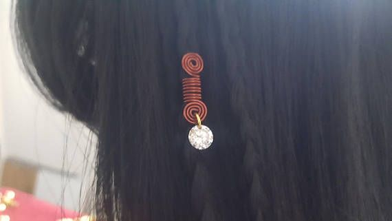Hey, I found this really awesome Etsy listing at https://www.etsy.com/ca/listing/528268946/chocolate-faux-diamond-loc-braid-jewelry