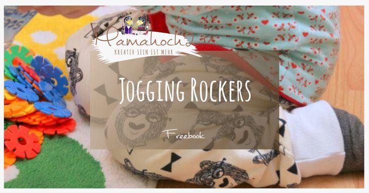 Ihr wollt eine Hose nähen? Dann ist unser Hosen Freebook sicher genau das Richtige für euch! Jogging Rockers fetzen einfach!