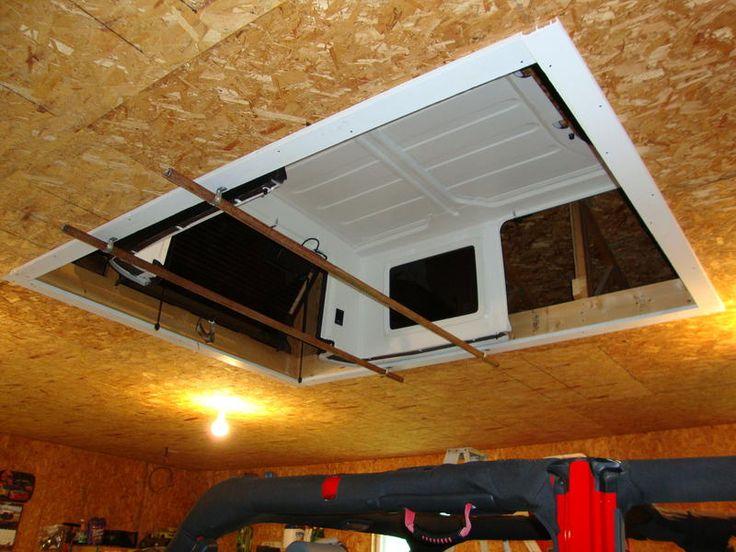 Jeep hidden hard top hoist umm new house must!