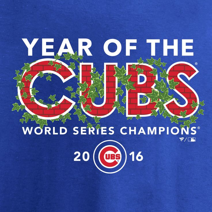 Chicago Cubs Royal 2016 World Series Champions Year of the Cubs T-Shirt