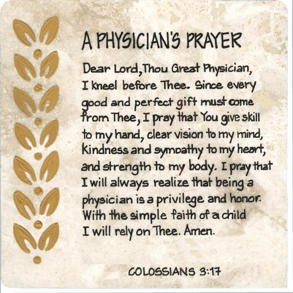 Physician Prayer | Dr. Cristina | Softball coach, Nurses ...