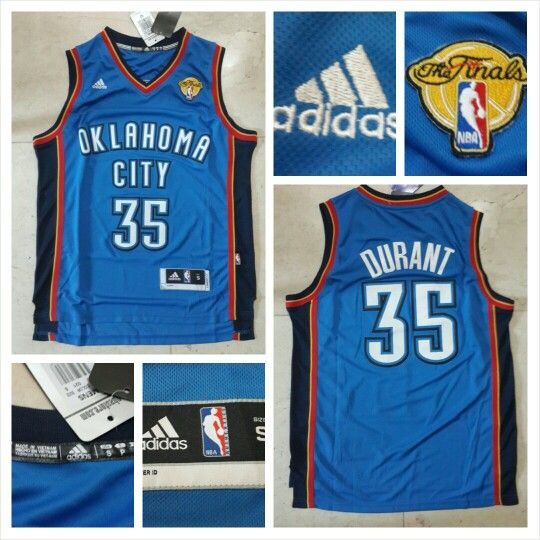 READY STOCK ! READY STOCK!!  JERSEY BASKETBALL NBA OKLAHOMA CITY THUNDERS KEVIN DURANT #35 SWINGMAN REVO30 FOR SALE  Interested?  Follow us @korionz  Contact us! BB 28BCBB04 LINE Leonardusmarvin Whatsapp +62-838-7033-0922