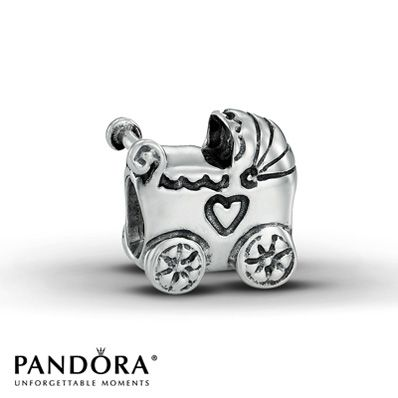 Pandora Baby Carriage Charm... Plan to give this to the mothers when we