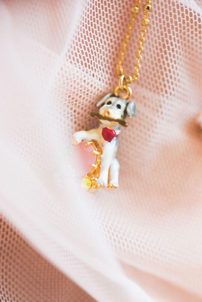 Les Nereides Loves Animals - Dog Necklace