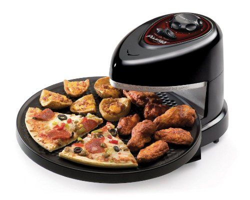 Presto Pizzazz Plus Rotating Oven - This is a must have kitchen gadget for all pizza lovers. It bakes any regular and rising crust frozen pizza just half of the time compares to a conventional oven. It's great for other frozen food too. Check it out!