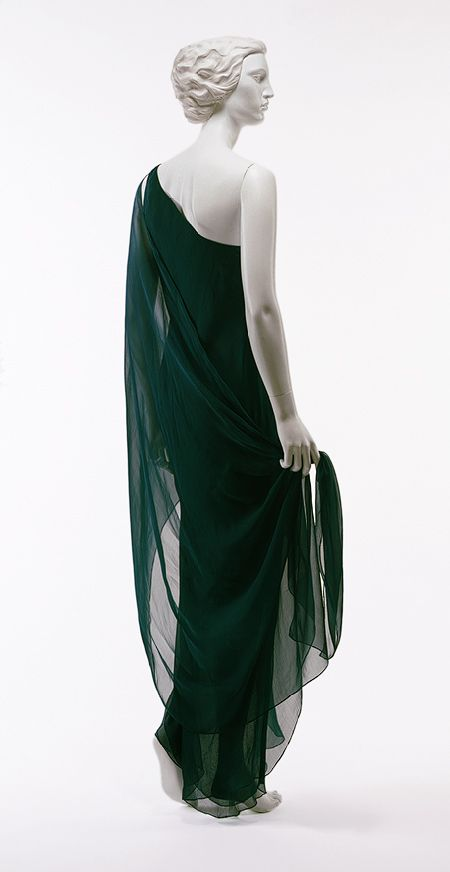 Roy Halston Frowick: Evening gown, 1970's     Heilbrunn Timeline of Art History, The Metropolitan Museum of Art