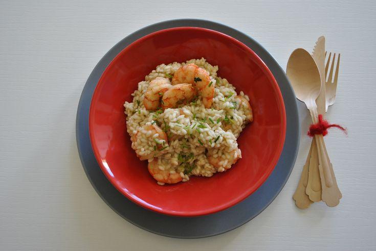 Risotto con gamberetti #rice #fish #shrimps #red #ilovesanmartino