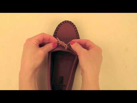 The Ultimate Knot for Minnetoka Moccasins -- best how-to ever!