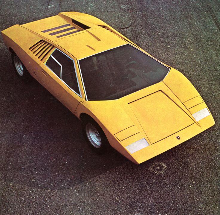 Lamborghini Countach - alpha auto c.1976-1977