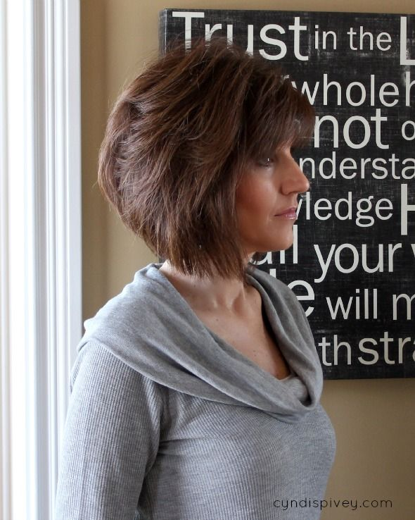 The Angled Bob Haircut - Walking in Grace and Beauty