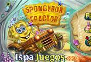 SpongeBob Tractor: Con la ayuda de los amigos de Bob Esponja podrás manejar este tractor en todo el camino recolectando fichas, cada nivel desbloquearas cada amigo y así poder llegar al gran bob http://www.ispajuegos.com/jugar6330-SpongeBob-Tractor.html