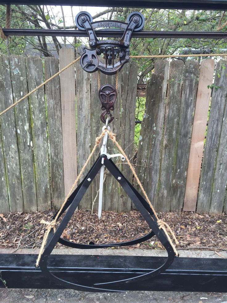 51 Best Hay Fork Carriers Images On Pinterest Pulley