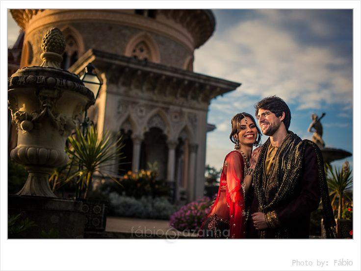 Indian Engagement ceremony @Monserrate Palace  #monserratepalace #sintra #indian #wedding