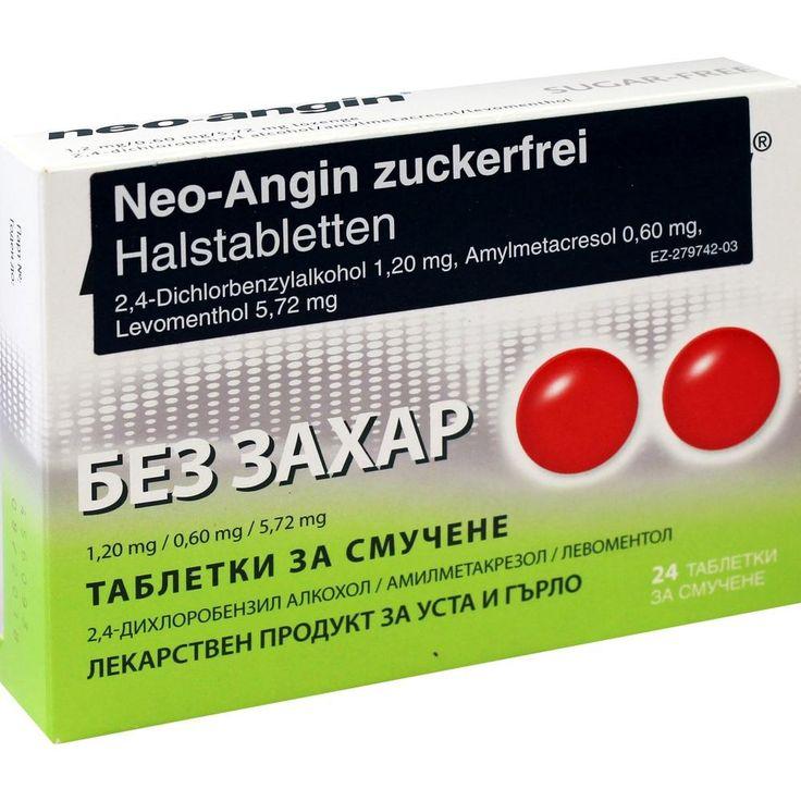 NEO ANGIN Halstabletten zuckerfrei:   Packungsinhalt: 24 St Lutschtabletten PZN: 06110617 Hersteller: EurimPharm Arzneimittel GmbH Preis:…
