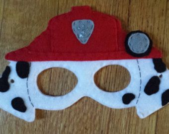 Paw Patrol Mask Only Ready To Ship Lot by SevenElvesParties
