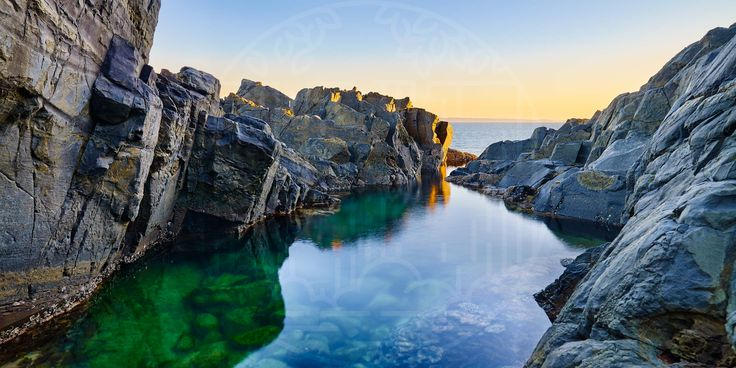The Fairy Pools are two natural tidal pools lying between the basalt rocks just…