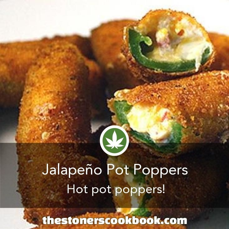 Jalapeño Pot Poppers from the The Stoner's Cookbook (http://www.thestonerscookbook.com/recipe/jalape-o-pot-poppers)